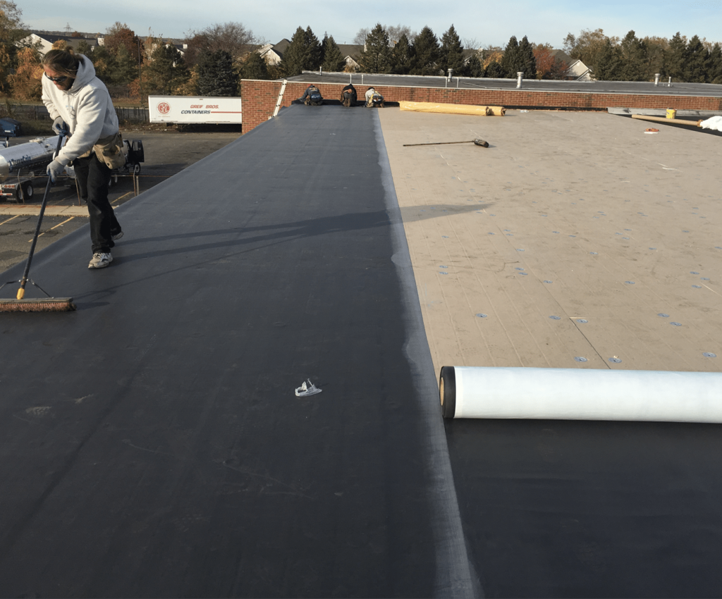 Epdm Roofing Commercial Systems Infinite Roofing Contractors