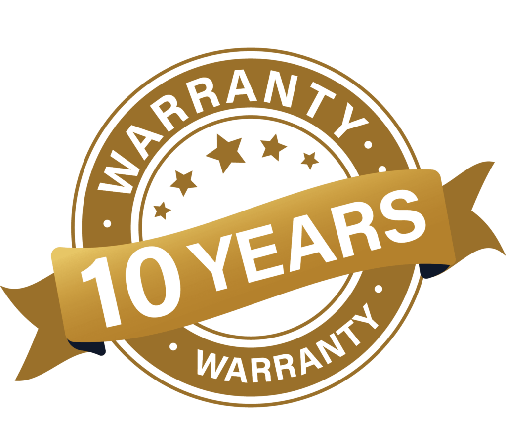 Infinite Roofing's 10 Year Warranty